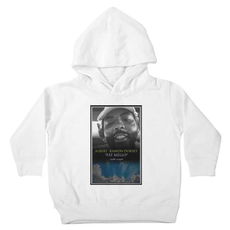 R.I.P. FAT MELLO Kids Toddler Pullover Hoody by BIGHAND-NO's Artist Shop
