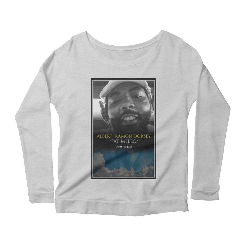 R.I.P. FAT MELLO Women's Longsleeve T-Shirt by BIGHAND-NO's Artist Shop