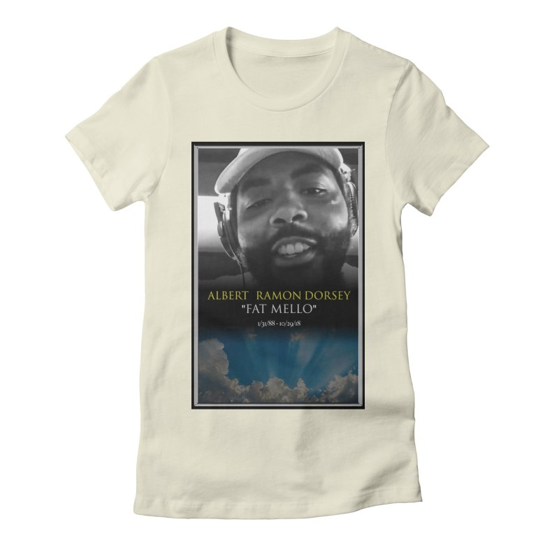 R.I.P. FAT MELLO Women's Fitted T-Shirt by BIGHAND-NO's Artist Shop