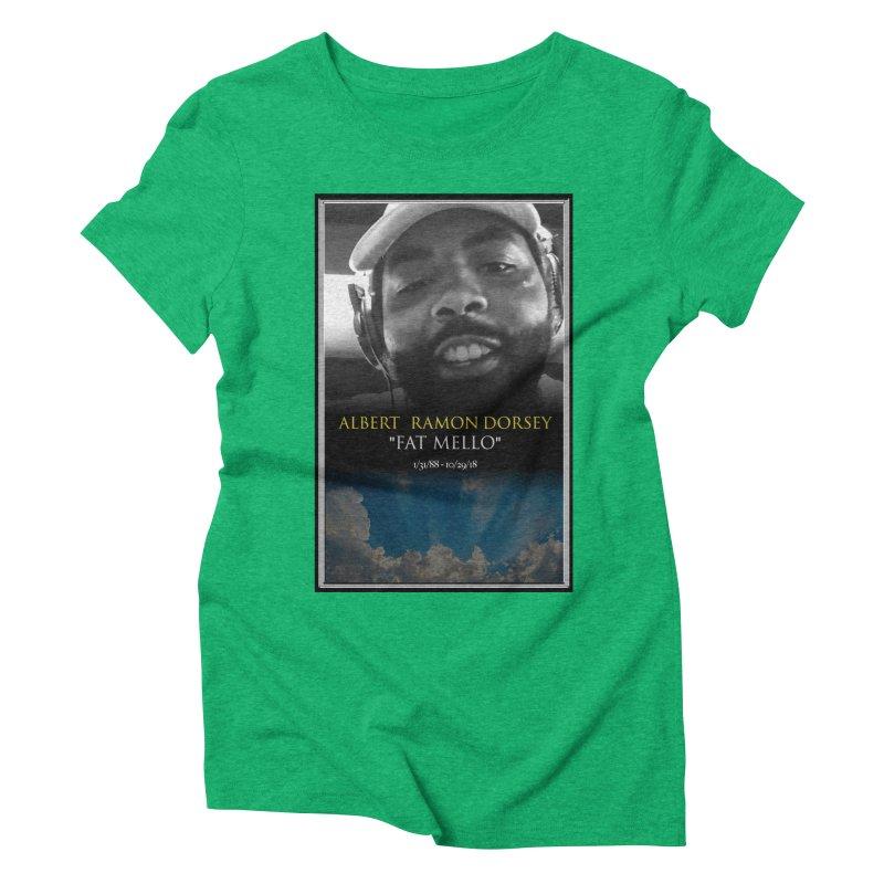 R.I.P. FAT MELLO Women's Triblend T-Shirt by BIGHAND-NO's Artist Shop