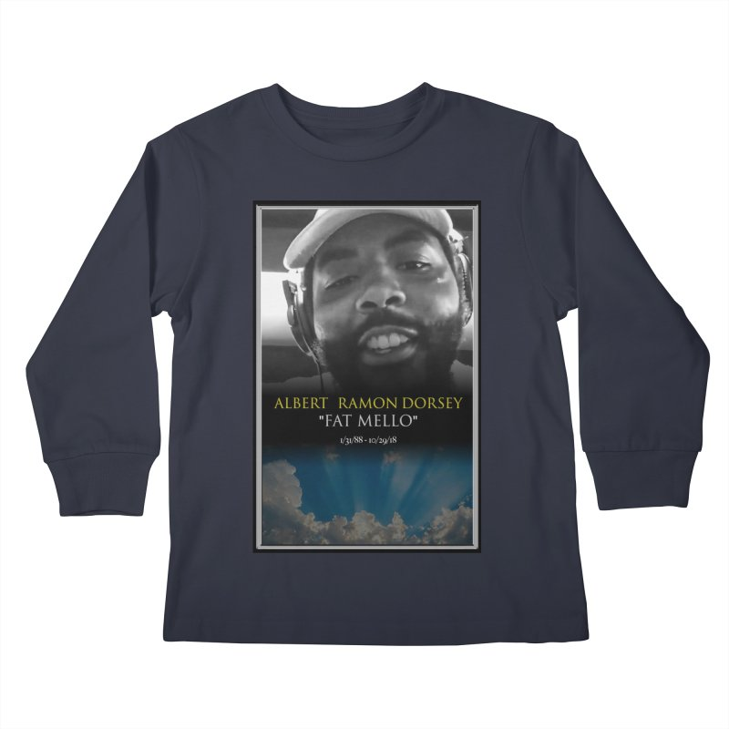 R.I.P. FAT MELLO Kids Longsleeve T-Shirt by BIGHAND-NO's Artist Shop