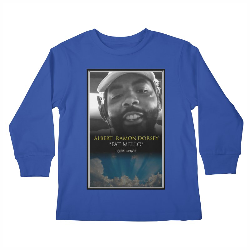R.I.P. FAT MELLO Kids Longsleeve T-Shirt by BIGHAND-NO's Artist Shop