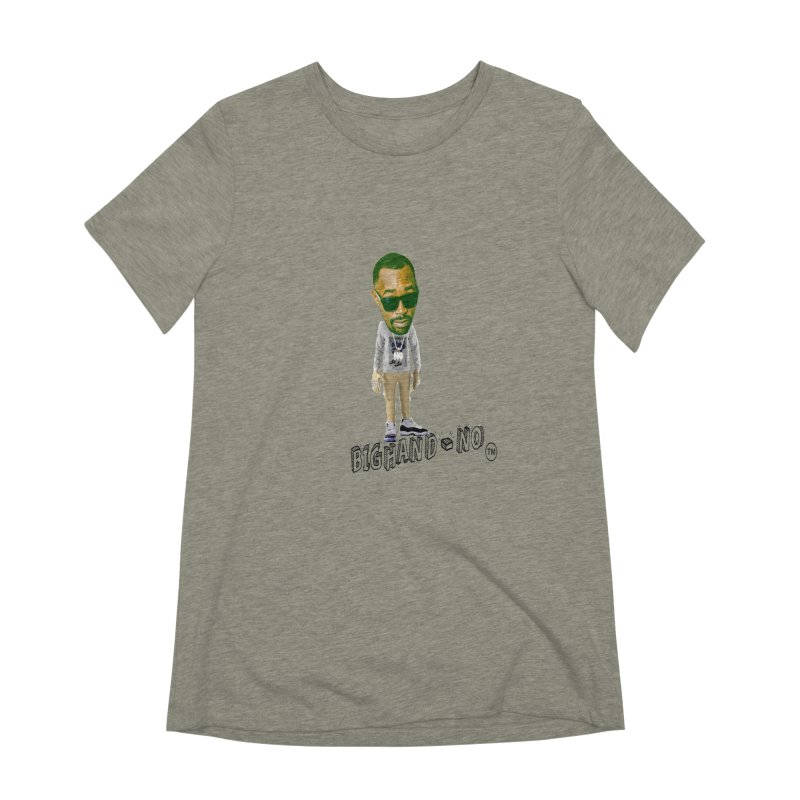 Unreleased Exclusive Cartoon Women's Extra Soft T-Shirt by BIGHAND-NO's Artist Shop