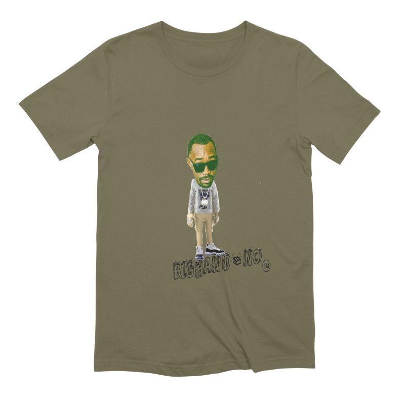 Unreleased Exclusive Cartoon Men's T-Shirt by BIGHAND-NO's Artist Shop