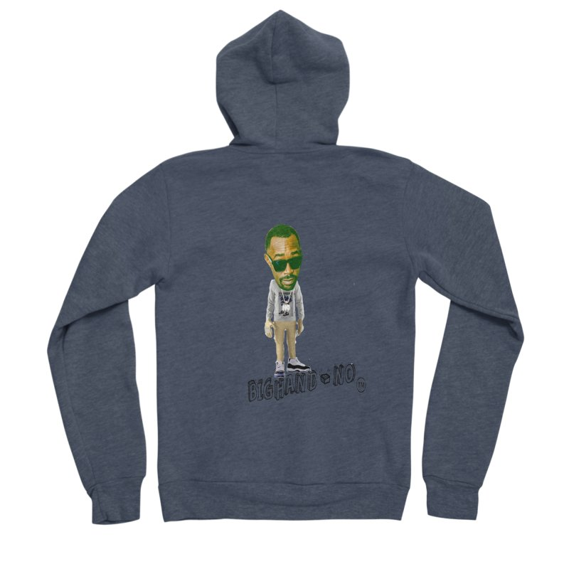 Unreleased Exclusive Cartoon Men's Zip-Up Hoody by BIGHAND-NO's Artist Shop