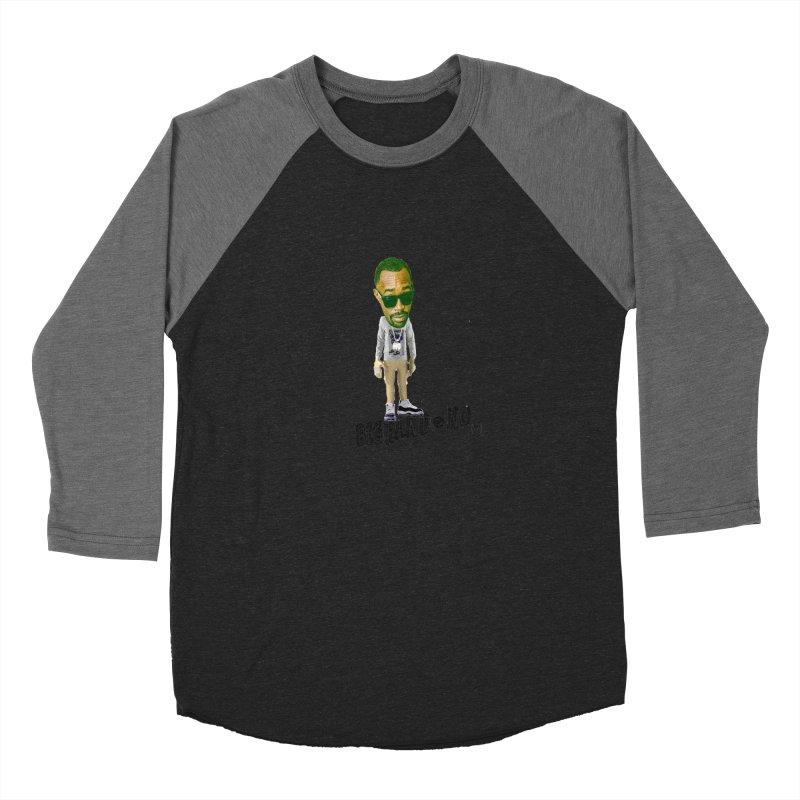 Unreleased Exclusive Cartoon Women's Baseball Triblend Longsleeve T-Shirt by BIGHAND-NO's Artist Shop