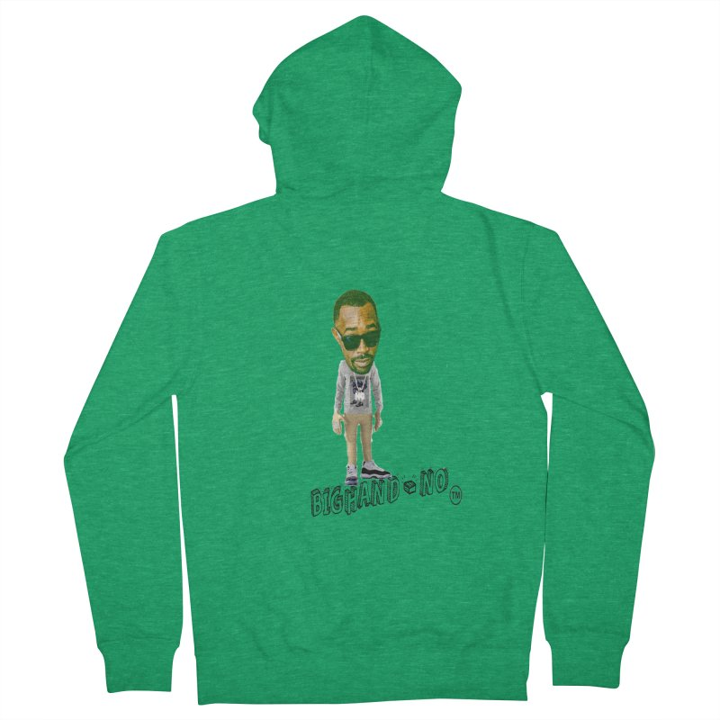 Unreleased Exclusive Cartoon Women's Zip-Up Hoody by BIGHAND-NO's Artist Shop