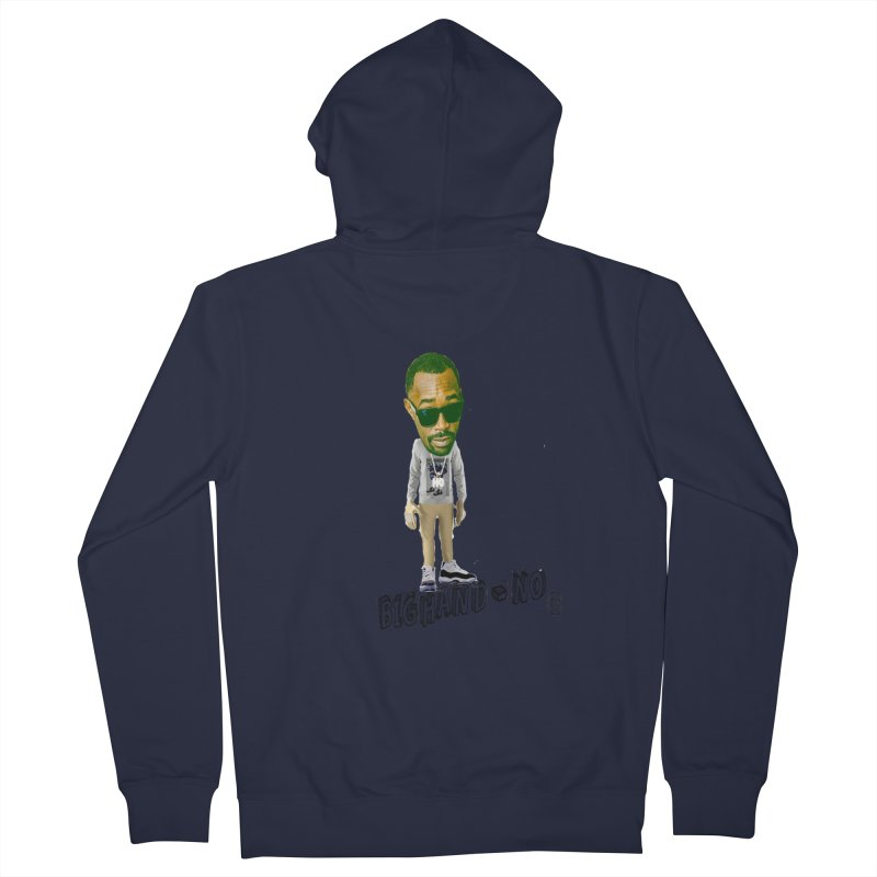 Unreleased Exclusive Cartoon Women's French Terry Zip-Up Hoody by BIGHAND-NO's Artist Shop