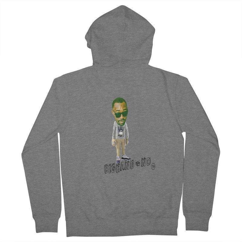 Unreleased Exclusive Cartoon Men's Zip-Up Hoody by BIGHAND-NO's Artist Shop