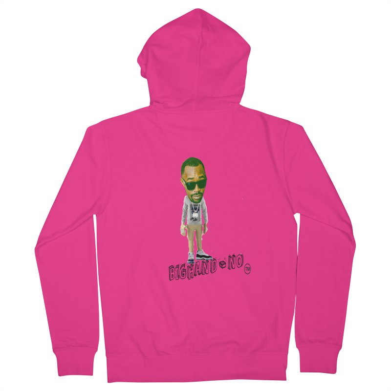 Unreleased Exclusive Cartoon Men's French Terry Zip-Up Hoody by BIGHAND-NO's Artist Shop