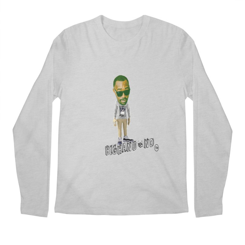 Unreleased Exclusive Cartoon Men's Regular Longsleeve T-Shirt by BIGHAND-NO's Artist Shop