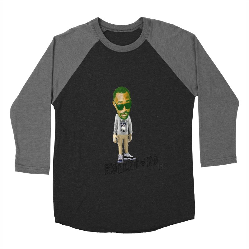 Unreleased Exclusive Cartoon Men's Baseball Triblend Longsleeve T-Shirt by BIGHAND-NO's Artist Shop