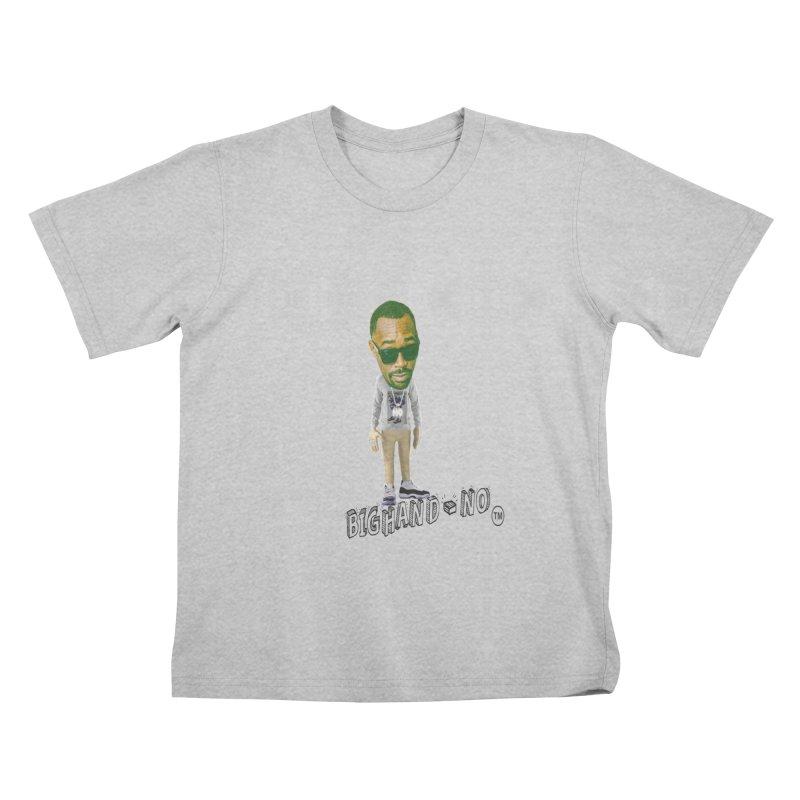 Unreleased Exclusive Cartoon Kids T-Shirt by BIGHAND-NO's Artist Shop