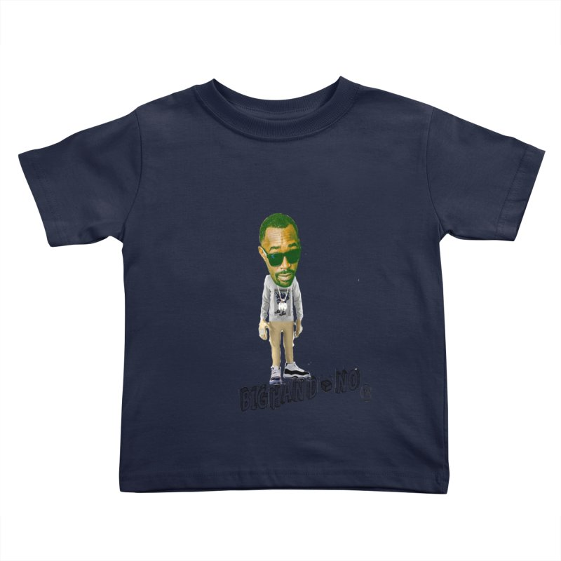 Unreleased Exclusive Cartoon Kids Toddler T-Shirt by BIGHAND-NO's Artist Shop