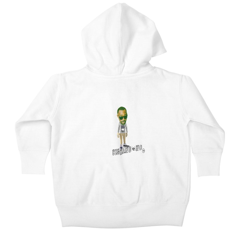 Unreleased Exclusive Cartoon Kids Baby Zip-Up Hoody by BIGHAND-NO's Artist Shop