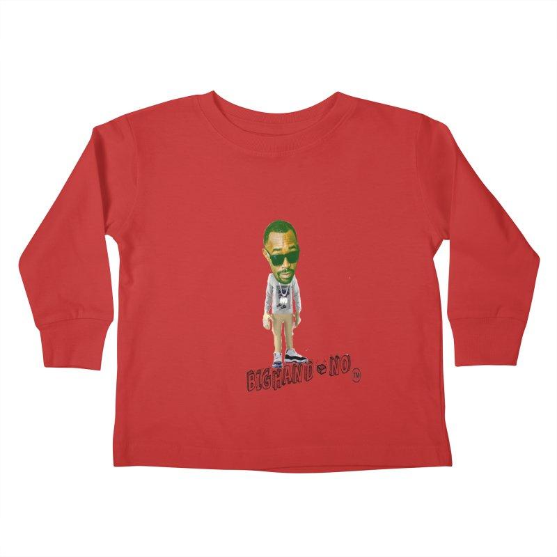 Unreleased Exclusive Cartoon Kids Toddler Longsleeve T-Shirt by BIGHAND-NO's Artist Shop