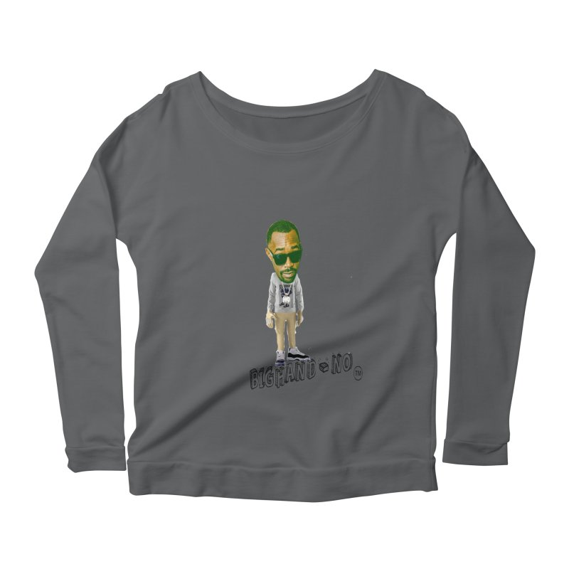 Unreleased Exclusive Cartoon Women's Longsleeve T-Shirt by BIGHAND-NO's Artist Shop