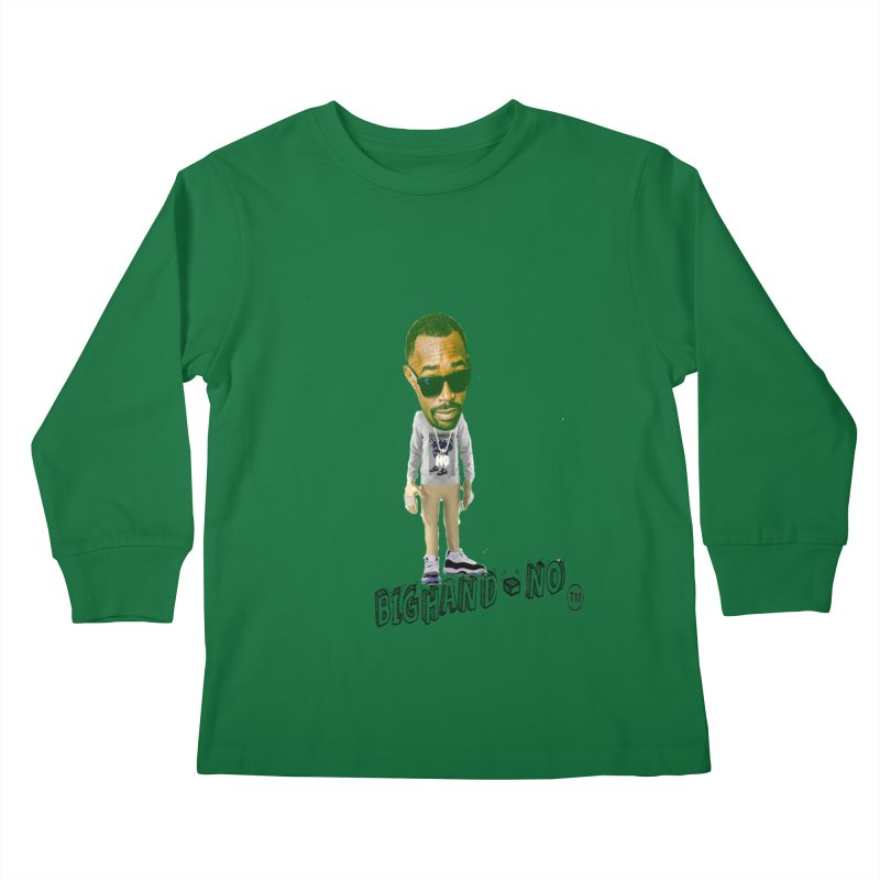 Unreleased Exclusive Cartoon Kids Longsleeve T-Shirt by BIGHAND-NO's Artist Shop