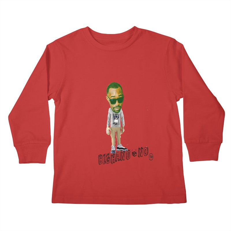 Unreleased Exclusive Cartoon Kids Longsleeve T-Shirt by BIGHAND-NO's Artist Shop