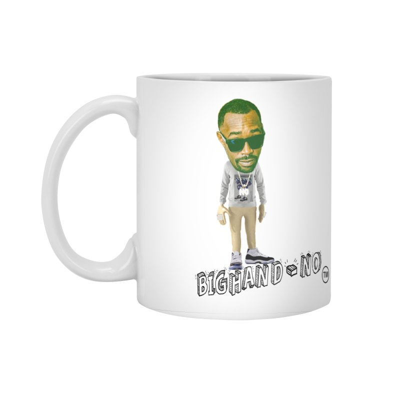 Unreleased Exclusive Cartoon Accessories Standard Mug by BIGHAND-NO's Artist Shop