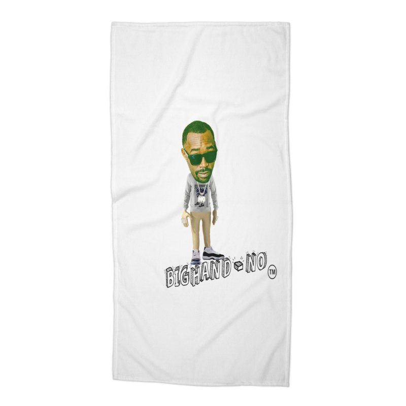 Unreleased Exclusive Cartoon Accessories Beach Towel by BIGHAND-NO's Artist Shop