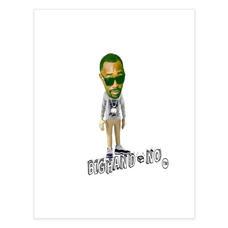 Unreleased Exclusive Cartoon Home Fine Art Print by BIGHAND-NO's Artist Shop