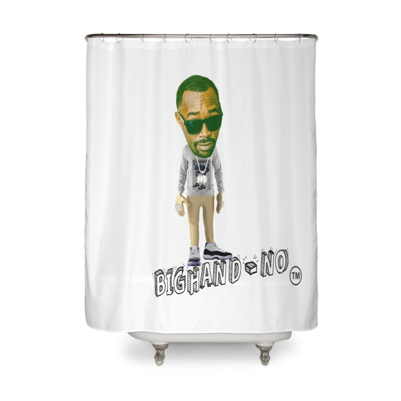 Unreleased Exclusive Cartoon Home Shower Curtain by BIGHAND-NO's Artist Shop