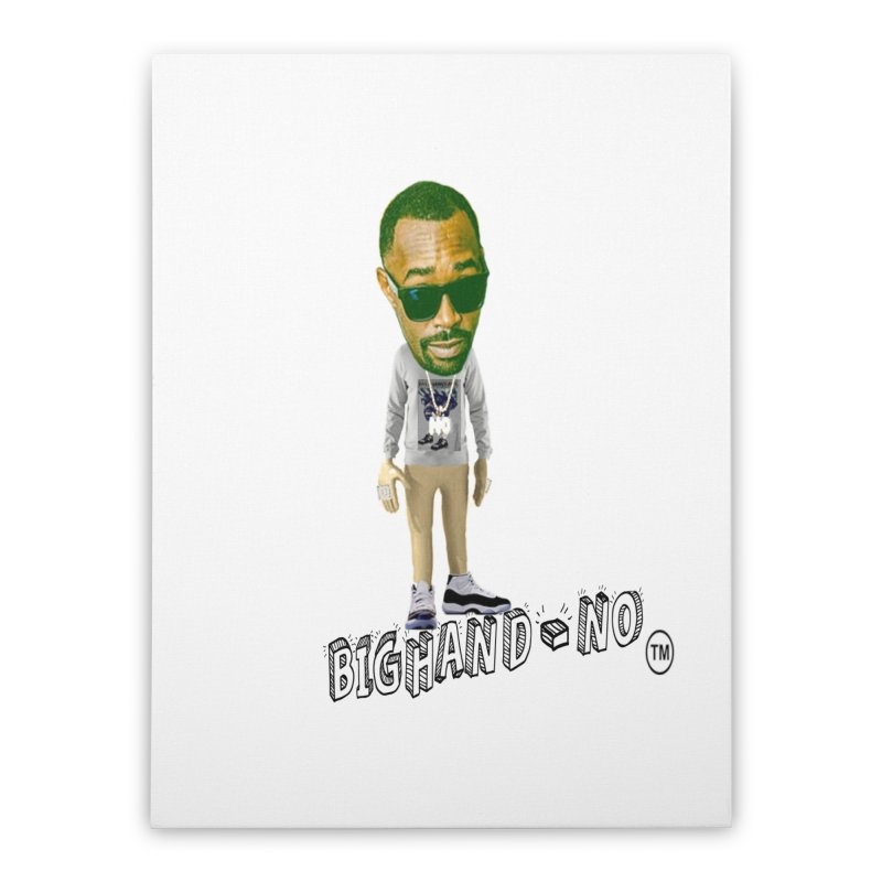 Unreleased Exclusive Cartoon Home Stretched Canvas by BIGHAND-NO's Artist Shop