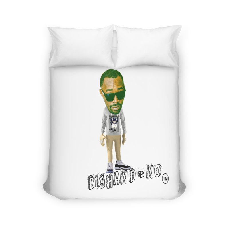 Unreleased Exclusive Cartoon Home Duvet by BIGHAND-NO's Artist Shop