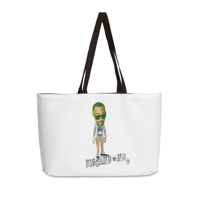 Unreleased Exclusive Cartoon Accessories Weekender Bag Bag by BIGHAND-NO's Artist Shop