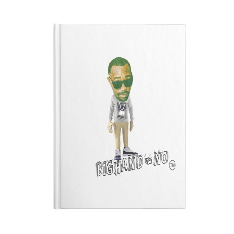 Unreleased Exclusive Cartoon Accessories Lined Journal Notebook by BIGHAND-NO's Artist Shop