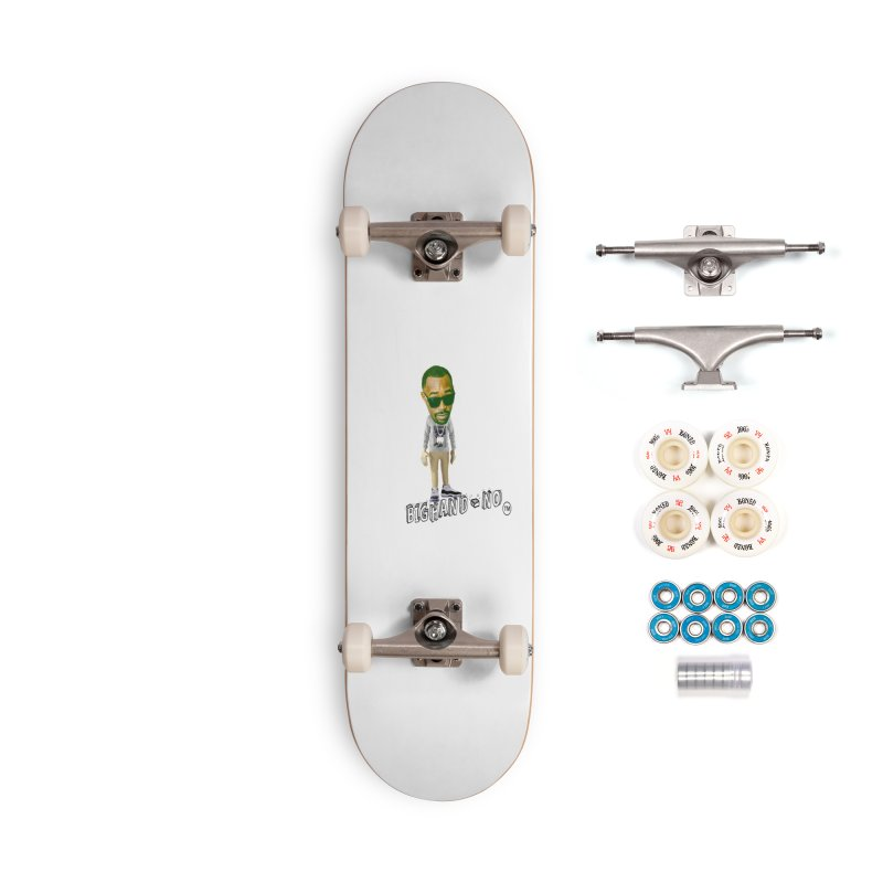 Unreleased Exclusive Cartoon Accessories Complete - Premium Skateboard by BIGHAND-NO's Artist Shop