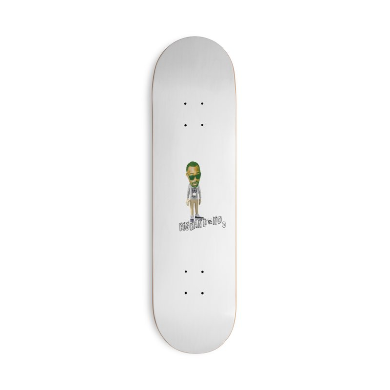 Unreleased Exclusive Cartoon Accessories Deck Only Skateboard by BIGHAND-NO's Artist Shop