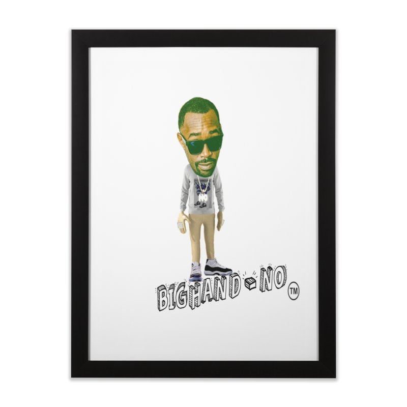 Unreleased Exclusive Cartoon Home Framed Fine Art Print by BIGHAND-NO's Artist Shop