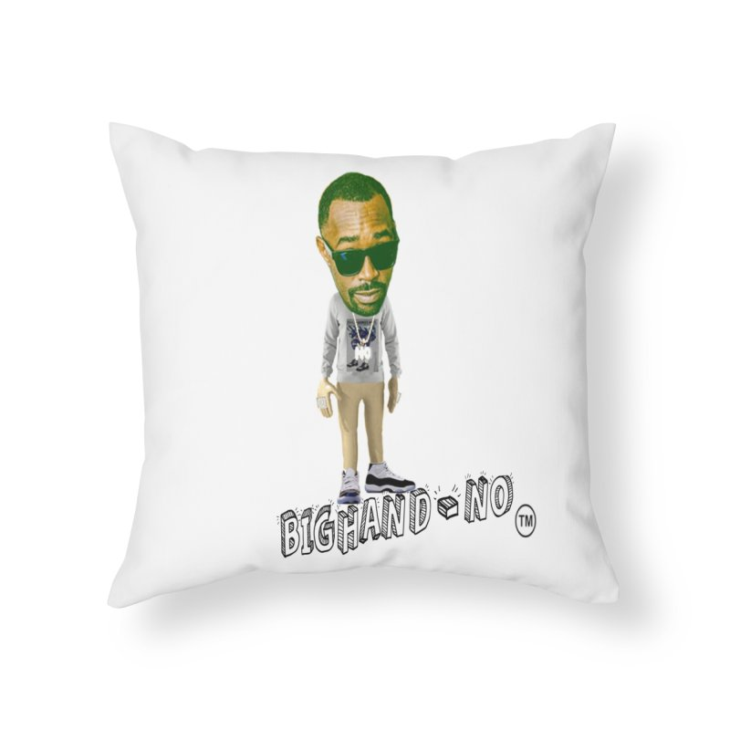 Unreleased Exclusive Cartoon Home Throw Pillow by BIGHAND-NO's Artist Shop