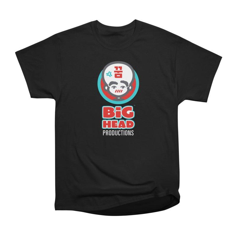 Big Head Productions (logo, vertical) Men's T-Shirt by Big Head Productions Artist Shop