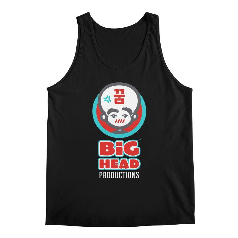 Big Head Productions (logo, vertical) Men's Tank by Big Head Productions Artist Shop
