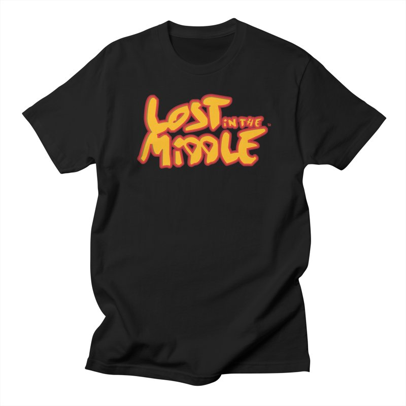 Lost in the Middle (title) Men's T-Shirt by Big Head Productions Artist Shop