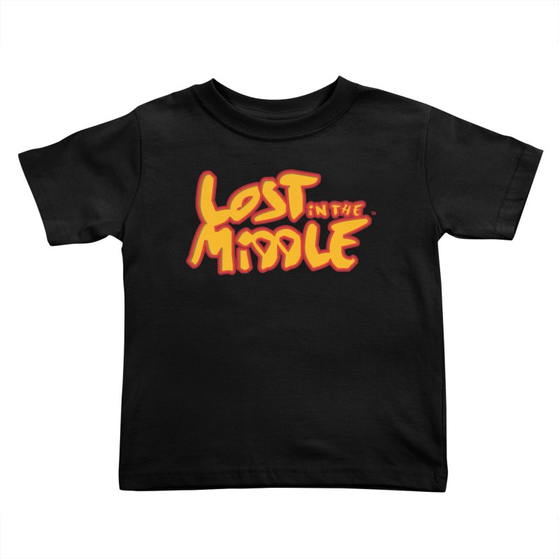 Lost in the Middle (title) Kids Toddler T-Shirt by Big Head Productions Artist Shop