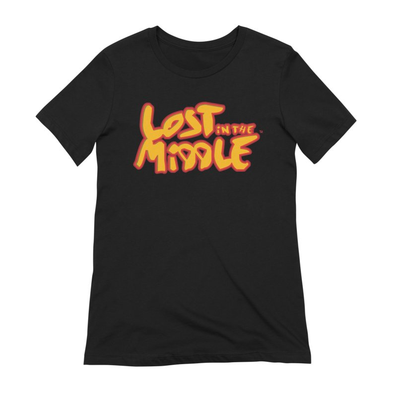 Lost in the Middle (title) Women's T-Shirt by Big Head Productions Artist Shop