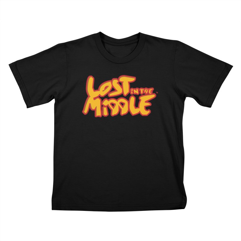 Lost in the Middle (title) Kids T-Shirt by Big Head Productions Artist Shop