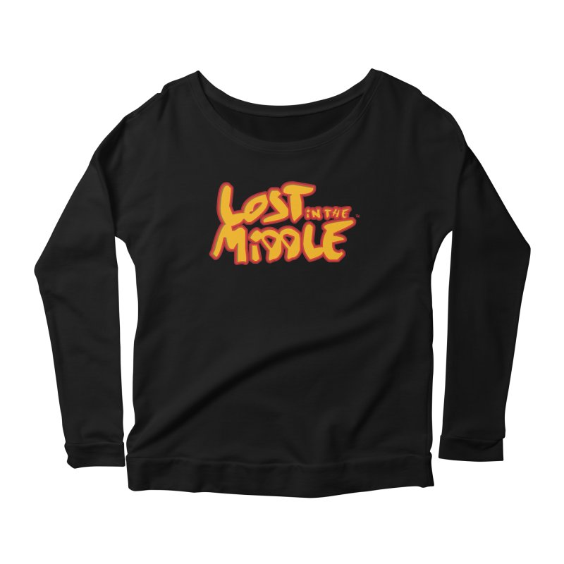 Lost in the Middle (title) Women's Longsleeve T-Shirt by Big Head Productions Artist Shop