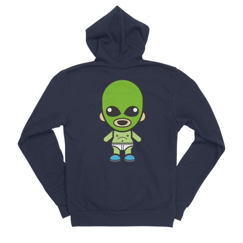 Alien (Cosplay Love™) Women's Zip-Up Hoody by Big Head Productions Artist Shop