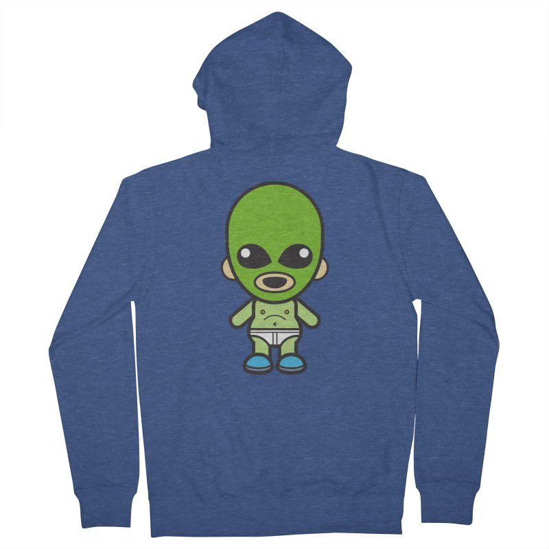 Alien (Cosplay Love™) Men's Zip-Up Hoody by Big Head Productions Artist Shop