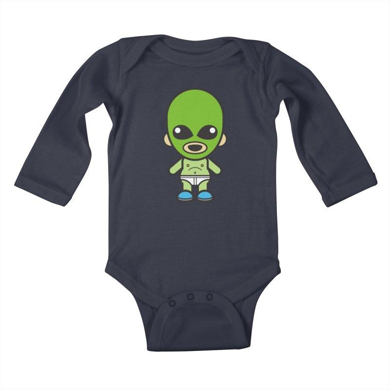 Alien (Cosplay Love™) Kids Baby Longsleeve Bodysuit by Big Head Productions Artist Shop