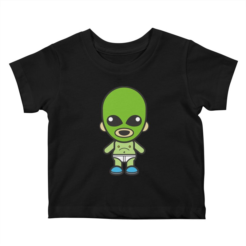 Alien (Cosplay Love™) Kids Baby T-Shirt by Big Head Productions Artist Shop