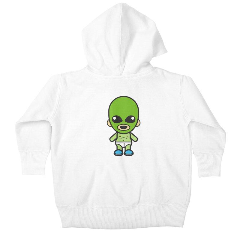 Alien (Cosplay Love™) Kids Baby Zip-Up Hoody by Big Head Productions Artist Shop