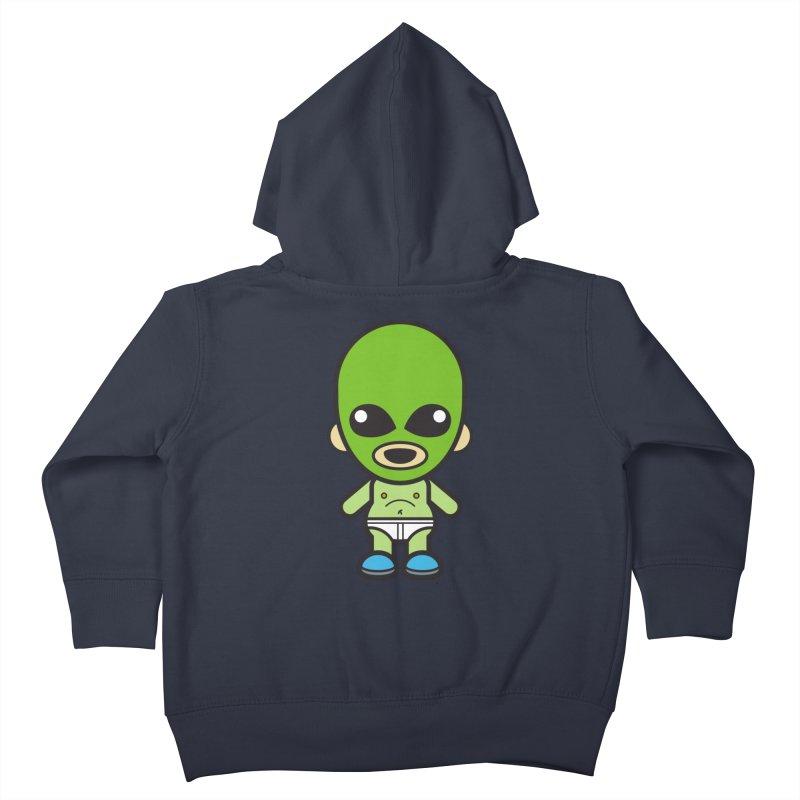 Alien (Cosplay Love™) Kids Toddler Zip-Up Hoody by Big Head Productions Artist Shop