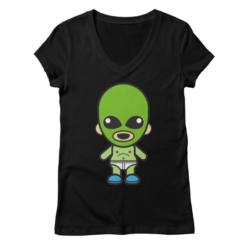 Alien (Cosplay Love™) Women's V-Neck by Big Head Productions Artist Shop