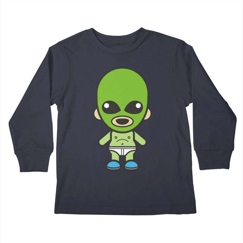 Alien (Cosplay Love™) Kids Longsleeve T-Shirt by Big Head Productions Artist Shop